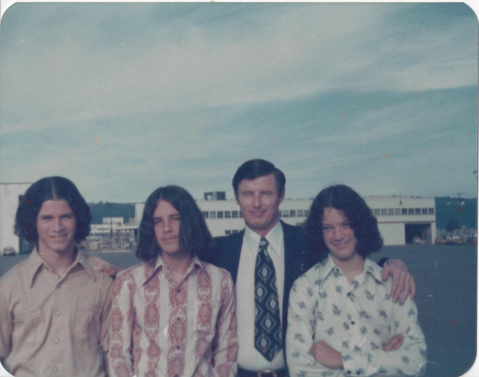 Dad & Boys 1976