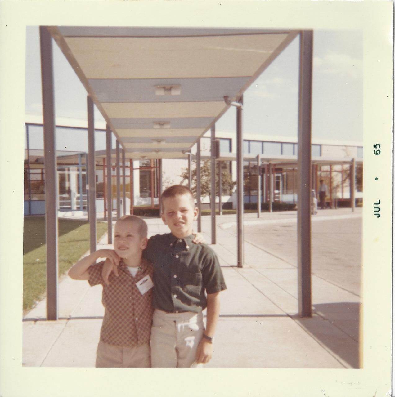 John & Jeff - July 1965